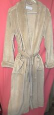 RESTORATION HARDWARE Robe Plush Luxury Long Spa Light Brown Women's Small