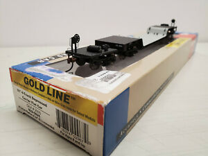HO Scale Walthers General Electric 81' Four Truck Depressed Center Flat Car