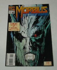 MORBIUS the LIVING VAMPIRE # 32 MARVEL COMICS 1995 DIRECT EDITION LAST ISSUE