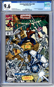AMAZING SPIDER-MAN #360 CGC 9.6 WHITE PAGES 1st CARNAGE CAMEO 1992