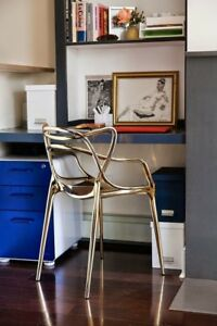 Kartell Masters Chair ORIGINAL Designer Dining Lounge Arm Chair Philippe Starck