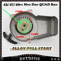 Alloy Pull Start Starter 2 Stroke 43/47/49cc Mini Dirt/Pit Pocket Bike ATV Quad