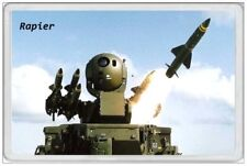 RAPIER - JUMBO FRIDGE MAGNET - FIELD STANDARD AIR DEFENCE MILITARY ARMY JANES