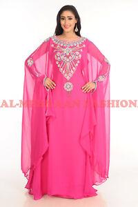 NEW DUBAI MODERN ARABIC  FANCY ISLAMIC MOROCCAN FARSHA FOR PARTY WEAR DRESS 5003