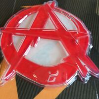 Demon Anarchy Snowboard Stomp Pad NEW Board Traction Acrylic red A