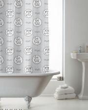 Hot Bath/Soap Water Design Shower Curtain 180cms x 180cms
