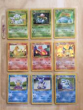 Pokemon 151 Set Complete - 100 % Original Classic Cards - Base - Fossil - Jungle
