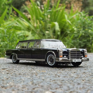 Sun Star 1/18 Benz 600 Pullman W100 1966 Diecast MODEL Car Toys Gifts Display