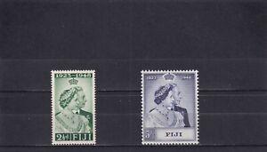 Fiji 1948 Royal Silver Wedding SG 270/1 Mint Unhinged