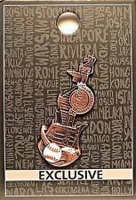 Hard Rock Cafe Yankee Stadium Core 3D Skyline Guitar Pin New LE MLB New York