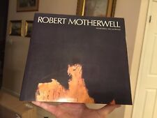 1982 second edition new and revised art book Robert Motherwell signed card nice
