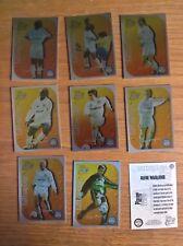 Futera football cards: Leeds United Utd Cutting Edge foil insert chase set of 9