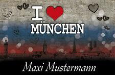 Fußmatte München*Fußabstreifer*Waschbar*Türvorleger*Skyline*Stadt*Bayern*Fußball