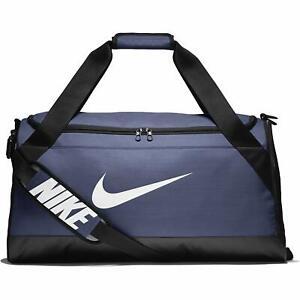 NIKE, Brasilia Medium Training Travel Gym Duffel Bag  (Blue or Navy)