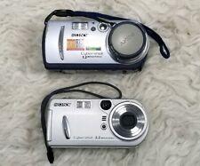 Sony Cybershot DSC-P30 1.3MP Digital Camera and  DSC-P72 - UNTESTED