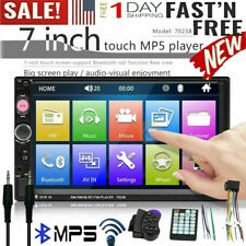 7 Inch Double 7023B 2 DIN Car FM Stereo Radio MP5 Player TouchScreen Bluetooth T