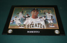 PITTSBURGH PIRATES ROBERTO CLEMENTE 1993  IRON CITY BEER  POSTER