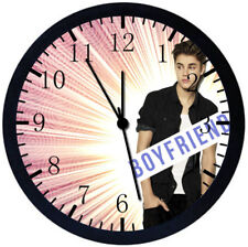 Justin Bieber Black Frame Wall Clock Nice For Decor or Gifts Z02