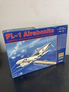 FL-1 AIRABONITA (NAVY P-39 AIRACOBRA) USN AND RN (1/72 MODEL KIT, RS 92100)