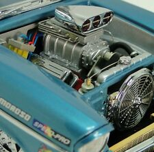 1 1957 Chevy Dragster Race Car Drag Sport Vintage 12 Hot Rod 24 Carousel Blue 18