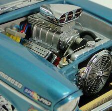 1957 Chevy Race Car w/ Blown Chevrolet V8 Engine & Vintage Drag Racing Wheels