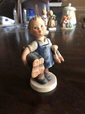 "Free Shipping ~ Hummel ""Boots"" Figurine #143/0 Tmk3 Great Colour Nice"