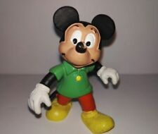Figure of Mickey Mouse in PVC green T-shirt 3 bully