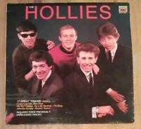 The Hollies ‎– 17 Great Tracks Vinyl LP Comp 33rpm 1985 MFP 4157271