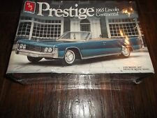 AMT Prestige 1965 Lincoln Continental Convertible 1/25 Model Kit SEALED 1987 '65