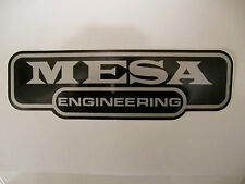 MESA BOOGIE ENGINEERING GUITAR BASS AMP DECAL STICKER CASE RACK BUMPER STICKER