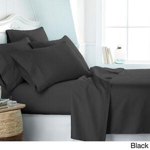 6 PIECE DEEP POCKET BAMBOO EGYPTIAN COMFORT 2100 SERIES SUPER SOFT BED SHEET SET