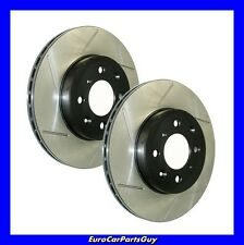 Stoptech Sport Slotted Disc Brake Rotor Front Left & Right BMW S50/ S52 e36 M3