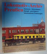 Lokomotiv-Archiv Preußen ,Zahnrad-Schmalspur-Dampf u.Elektrolokomotiven