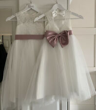 Flower girl dresses Age 4-5 And 6-7