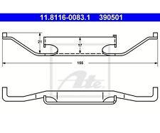ATE 11.8116-0083.1 Feder, Bremssattel   für BMW 5er 7er 5er Touring 3er Coupe