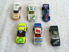 Lot 6 Assorted Vintage Diecast Toy Cars Mathbox Hot Wheels Road Champs