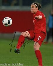 England Lucy Bronze Autographed Signed 8x10 Photo COA H