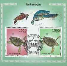 Timbres Reptiles Tortues Guinée Bissau BF547 o (2010) lot 19122 - cote : 16 €