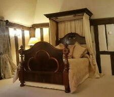 Antique Victorian Half Tester Luxury Bed