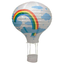 40.6cm blanc ballon à air chaud lanterne en papier abat-jour de plafond