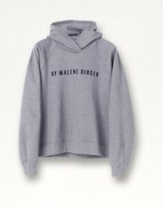 By Malene Birger Tagia Grey Hoodie Sweatshirt Size Med. New With Tags. RRP £195