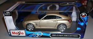 Chrysler Crossfire Maisto 1/18 Diecast New In Box