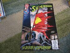 SUPERMAN #75: RARE IV PRINT HTF !!!!