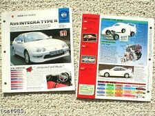 ACURA BROCHURES / Road Tests IMP Collection: INTEGRA,CL,NSX,