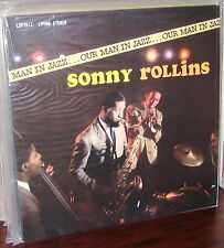 CLASSIC RECORDS LP LSP-2612: SONNY ROLLINS - Our Man In Jazz, 1990s USA 180gm SS