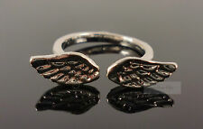 Silver Angel Wings Cute Costume Jewellery Ring