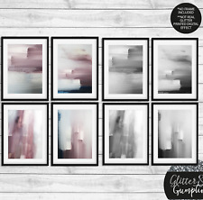 More details for acrylic abstract fashion art painting contemporary home decor art wall art print