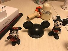 Disney Mickey And Minnie Mouse Cast Iron Banks