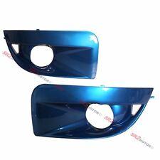 BLUE FOG LAMP LIGHTS BEZEL BUMPER COVER FITS FOR 04 05 SUBARU IMPREZA WRX STI