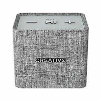 Creative Nuno Micro Designer Cloth Portable Bluetooth High Quality Grey Speaker